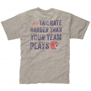 We Tailgate Harder  Tee - Red